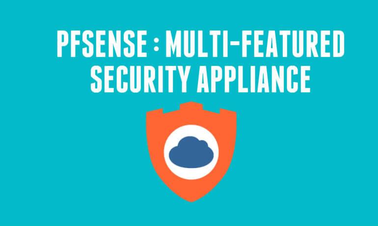 pfsense security appliance